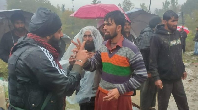 Updated:3 of nomad family die, another critical as soil bund caves in Tral Pulwama