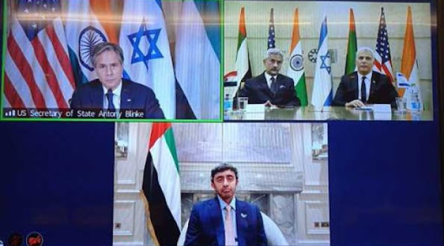 India, Israel, US and UAE join in new four-way cooperation