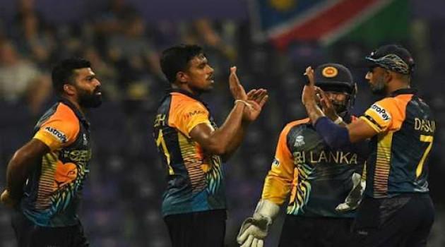 T20 World Cup: Sri Lanka beats Namibia by 7 wickets
